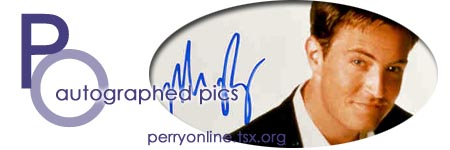 :: Perry Online ::  Autographed pics  ::