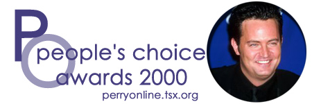 :: Perry Online ::  People's Choice Awards 2000 ::